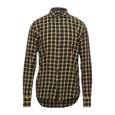 DEPERLU シャツ ブラック M コットン 100% シャツ