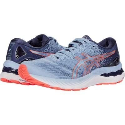 アシックス ASICS レディース ランニング・ウォーキング シューズ・靴 GEL-Nimbus 23 Mist/Blazing Coral