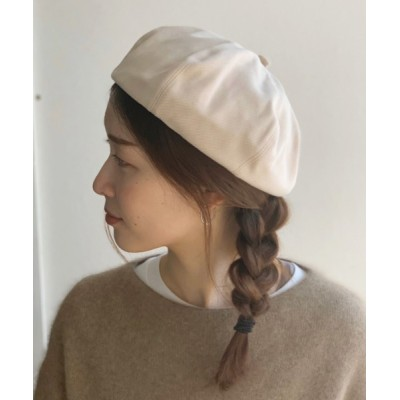 Port / ボリューム ベレー帽 WOMEN 帽子 > ハンチング/ベレー帽