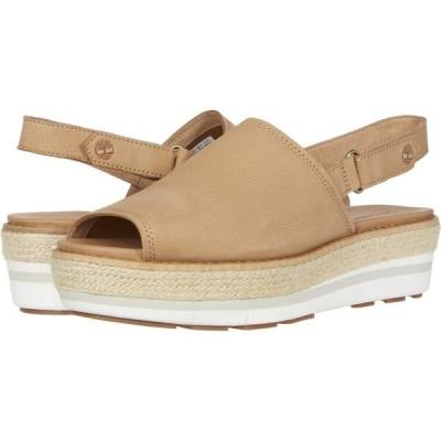 ティンバーランド Timberland レディース サンダル・ミュール シューズ・靴 Emerson Point Sandal Light Brown Full Grain Leather