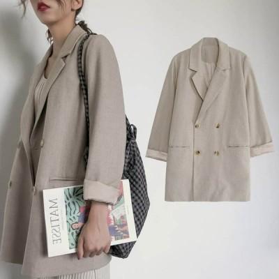 スーツジャケット レディース テーラードジャケット スーツコート 長袖 秋 アウター 30代 40代 ジャケット ゆったり カジュアル 上着 通勤 オフィス