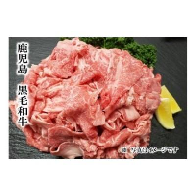 【A92001】 鹿児島県産黒毛和牛小間切り落とし〈約800g〉+牛すじだらけのカレーセット