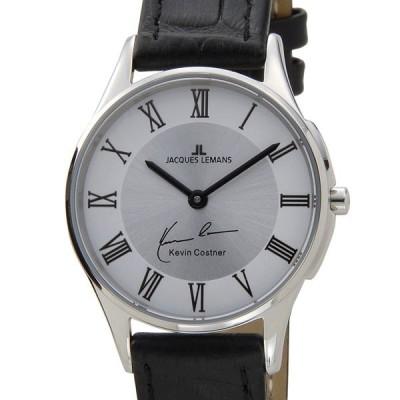 ジャックルマン JACQUES LEMANS 日本限定モデル レディース 腕時計 11-1778D-1 ケビンコスナー・コレクション ロンドン 革ベルト 新品