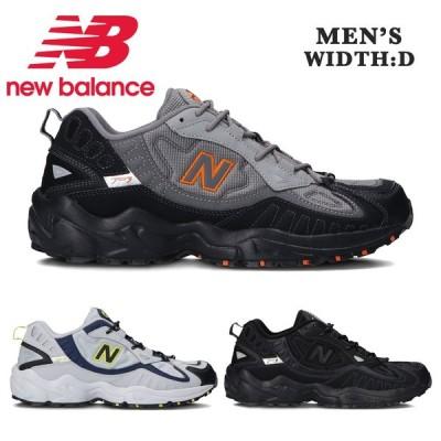 ニューバランス スニーカー メンズ ML703 トレイル ランニング new balance BA BB BC