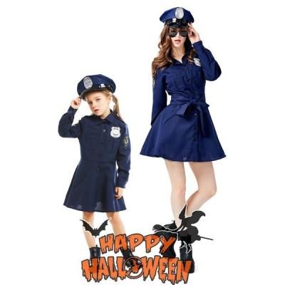 S〜XLハ大人 ロウィン衣装 女性用 ポリスマン コスプレ 警察官 コスチューム ポリスウーマン ハロウィン 衣装 婦人警官 軍服 子供ハロウィン衣装