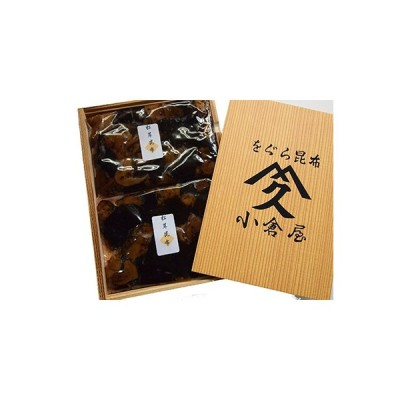 ふるさと納税 茨木市 のし付き 松茸昆布詰め合わせ(110g×2袋)