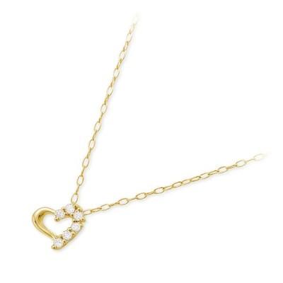 ゴールド ネックレス ダイヤモンド 彼女 プレゼント アンティエーレ 誕生日 送料無料 レディース