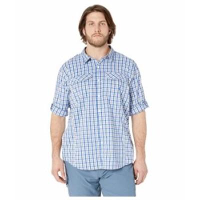 コロンビア メンズ シャツ トップス Big and Tall Silver Ridge Lite Plaid Long Sleeve Shirt Azul Gingham