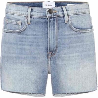 フレーム Frame レディース ショートパンツ ボトムス・パンツ Le Brigette high-rise shorts Alamitos
