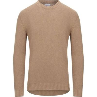 ベルウッド BELLWOOD メンズ ニット・セーター トップス sweater Camel