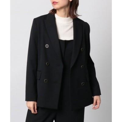 ジャケット テーラードジャケット ダブルボタンジャケット【セットアップ可】