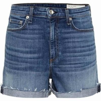 ラグandボーン Rag and Bone レディース ショートパンツ デニム ボトムス・パンツ nina high-rise denim shorts balboa