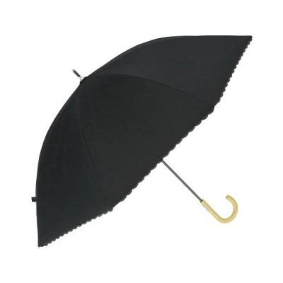 (BACKYARD/バックヤード)日傘 50cm手開 シルバーコーティング/ユニセックス ブラック系5