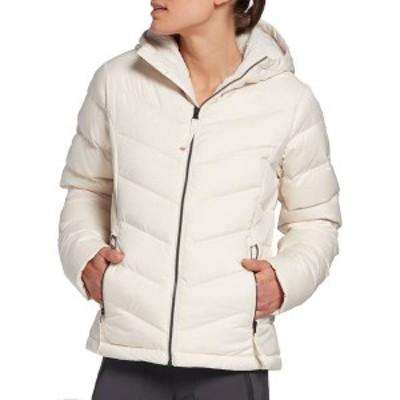 ノースフェイス レディース ジャケット・ブルゾン アウター The North Face Women's Down Hooded Jacket Vintage White