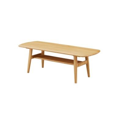 棚付きリビングテーブル