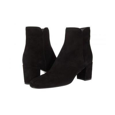 Aquatalia アクアタリア レディース 女性用 シューズ 靴 ブーツ アンクル ショートブーツ Denisse - Black Dress Suede