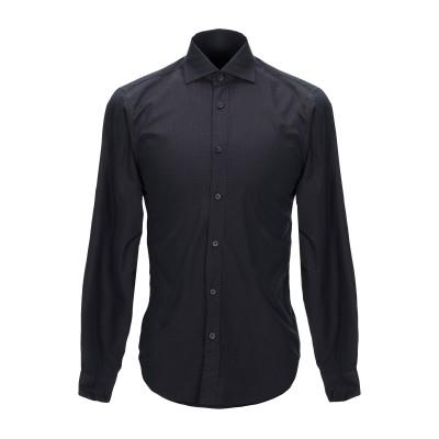 ZZEGNA シャツ ディープパープル S コットン 100% シャツ