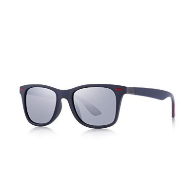 OLIEYE Ultra Lightweight Retro Rectangular Rivets Polarized Sunglasses