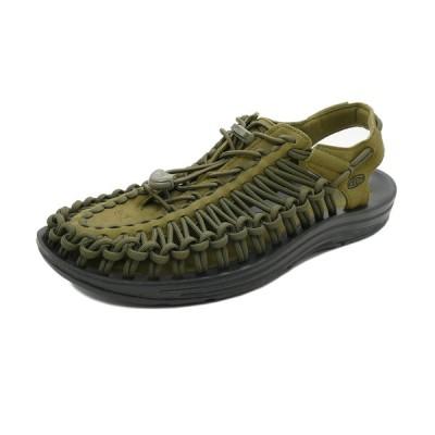 サンダル キーン KEEN ユニーク ダークオリーブ/ブラック 1023381 メンズ シューズ 靴 21SS