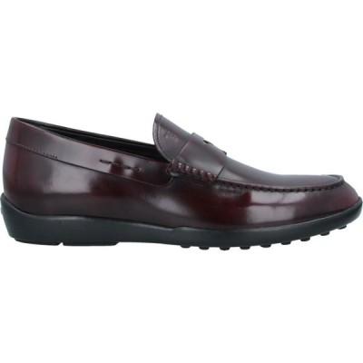 トッズ TOD'S メンズ ローファー シューズ・靴 loafers Maroon