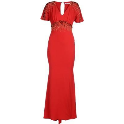 ブルマリン BLUMARINE ロングワンピース&ドレス レンガ 38 レーヨン 88% / ポリウレタン 12% ロングワンピース&ドレス