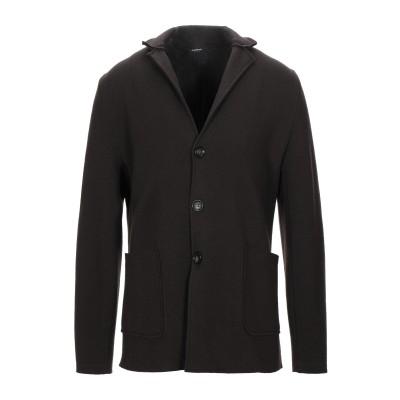 アルファスタジオ ALPHA STUDIO テーラードジャケット ココア 52 ウール 100% テーラードジャケット