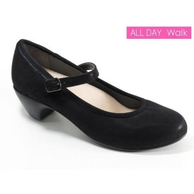 オールデイウォーク ALD0710 「20キロメートル歩ける靴!」 送料無料[黒]