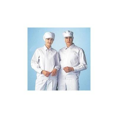 男性用八角帽子メッシュ付 US-2652 (ホワイト)3L