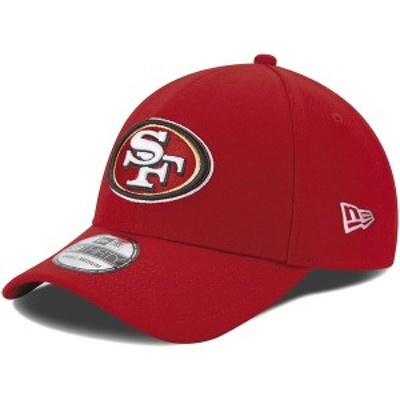 ニューエラ メンズ 帽子 アクセサリー San Francisco 49ers New Era 39THIRTY Team Classic Flex Hat Scarlet