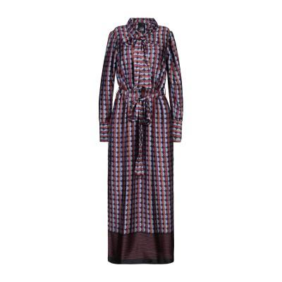 ジジル JIJIL ロングワンピース&ドレス アジュールブルー 38 ポリエステル 100% ロングワンピース&ドレス