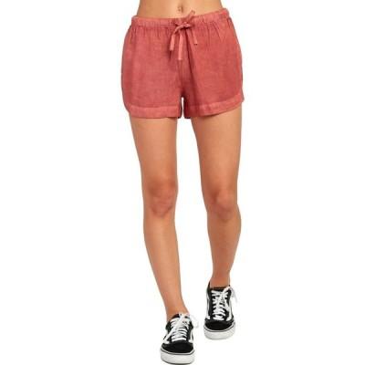 ルーカ RVCA レディース ショートパンツ ボトムス・パンツ New Yume Shorts Pompeii Red