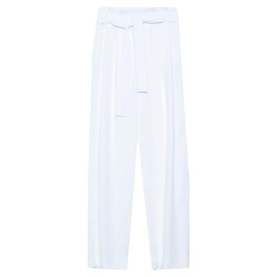 I BLUES パンツ ホワイト 40 ポリエステル 100% パンツ
