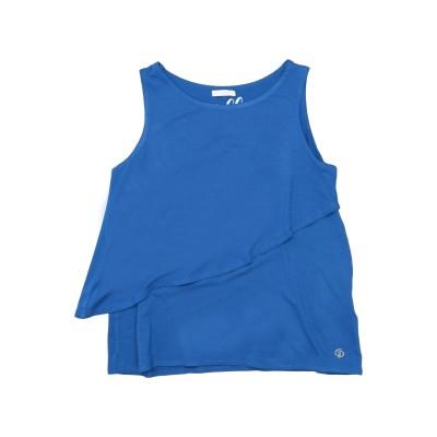 ビブロス BYBLOS T シャツ ブルー 10 レーヨン 96% / ポリウレタン 4% T シャツ