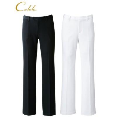 パンツ 女性用 CL-0133 チトセ キャララ Calala ホワイト/ブラック