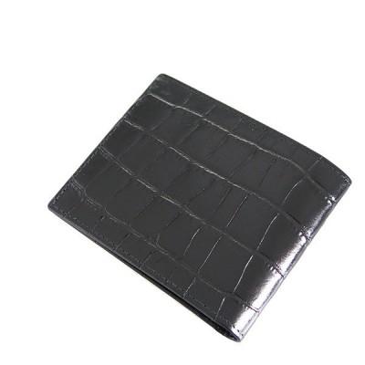 エッティンガー 二つ折り財布 メンズ ETTINGER レザー ブラック