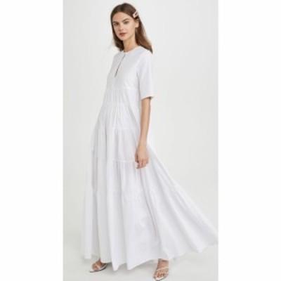 スタウド STAUD レディース ワンピース ワンピース・ドレス Cocoon Dress White