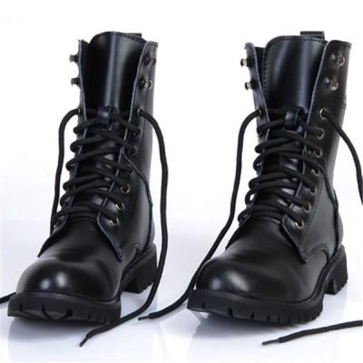 メンズ ブーツ ミドルブーツ 男子 カジュアルシューズ マーティンブーツ 本革 ライダーブーツ クール おしゃれ靴
