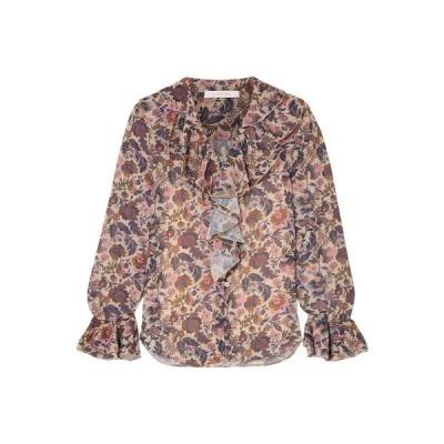 SEE BY CHLO フローラル柄シャツ&ブラウス  レディースファッション  トップス  シャツ、ブラウス  長袖 サンド