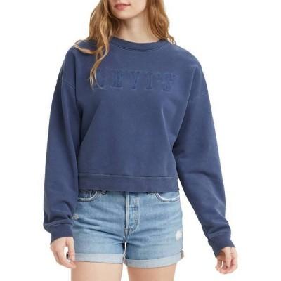 リーバイス レディース パーカー・スウェット アウター Levi's Women's Graphic Diana Crew Sweatshirt