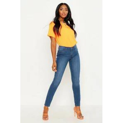 Boohoo レディースパンツ Boohoo Premium Skinny Stretch Denim Jeans?