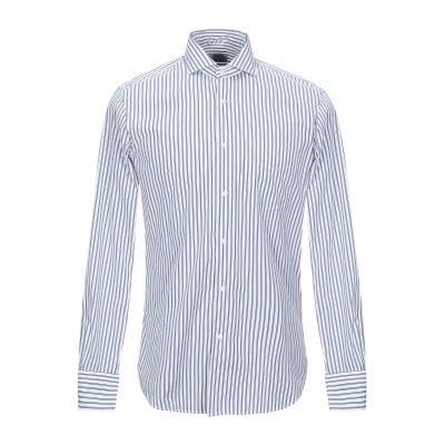 アスペジ ASPESI シャツ ブルー 42 コットン 100% シャツ