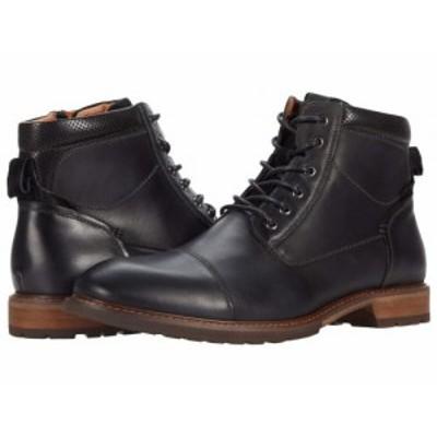 Florsheim フローシャイム メンズ 男性用 シューズ 靴 ブーツ レースアップ 編み上げ Lodge Cap Toe Lace-Up Boot Black【送料無料】