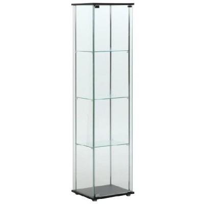 ガラスコレクションケース コレクションケース 飾り棚 フィギュアケース ガラスケース ディスプレイケース ショーケース 透明ケース 送料無料