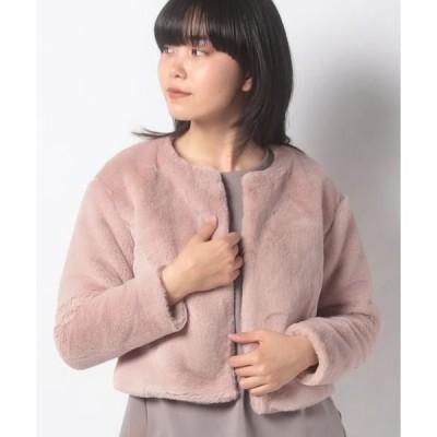 MISS J / ミス ジェイ エコファー ショートジャケット