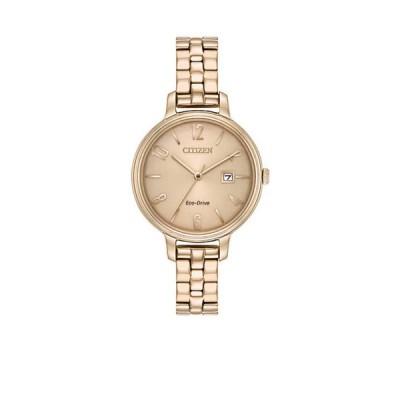 シチズン レディース 腕時計 アクセサリー Ladies Citizen Eco-Drive Silhouette Stainless Steel Watch