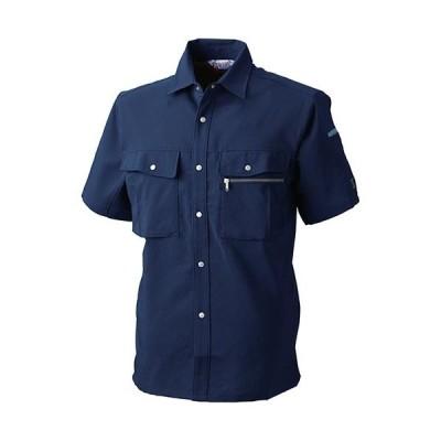 桑和(SOWA) 半袖 シャツ 1/ネイビー 4Lサイズ 927 作業着 作業服 ワークウェア ウエア トップス メンズ