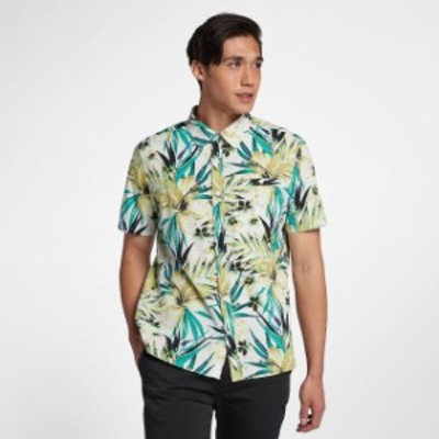 Hurley ハーレー ファッション アウター Hurley Mens Garden Short Sleeve Button Front Shirt