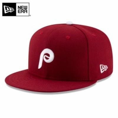 【T】【メーカー取次】NEW ERA ニューエラ 59FIFTY MLB On-Field フィラデルフィア・フィリーズ カーディナル 12026659 キャップ / 帽子