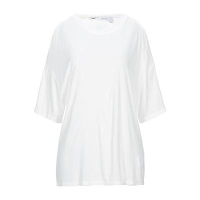 イロ IRO T シャツ ホワイト S レーヨン 100% T シャツ