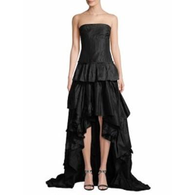 オスカーデラレンタ レディース ワンピース Silk Tiered Ruffle Gown